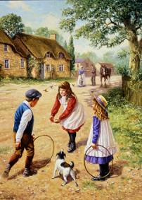 Village Games - Children Collection #171