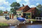 Village Pumps ( TR3, Royal Enfield ) #270