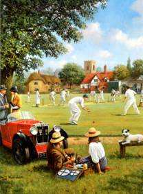 Cricket on the Village Green - Nostalgia Collection #202