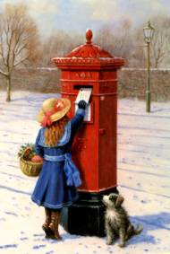 Posting The Christmas Cards - Christmas Collection #107