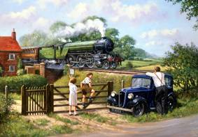 Passing By - Print, Jigsaw - Ravensburger U.K. #198